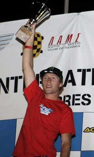 AMA Sports Athlete of the Year Ricky Dietrich nominee was second overall in the 2008 International Six Days Enduro.