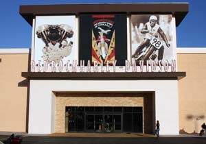 Red Rock Harley-Davidson's new dealership includes 30 service stations.