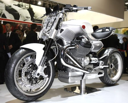 "Moto Guzzi describes the V12 X as a ""one-of-a-kind"" motorcycle, but spiritually, it sounds similar to Miguel Galluzzi's other creation, the Ducati Monster."