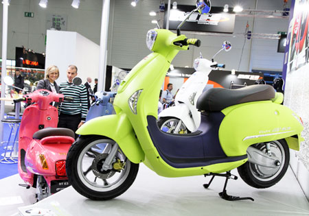 2011 Hyosung ST E3 electric scooter