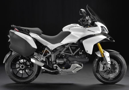 The 2010 Ducati Multistrada 1200S Touring Edition.
