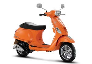 Piaggio says the Vespa S50 has the most powerful four-stroke 50cc engine on the market.