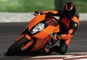 KTM's RC8 Super Cup will replace its Super Duke Battle series.