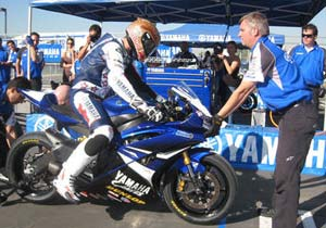 Ben Bostrom will ride the new Yamaha R1 in the 2009 AMA American Superbike class.
