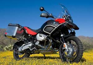 BMW is supplying its West Coast off-road training center with bikes such as the R1200GS.