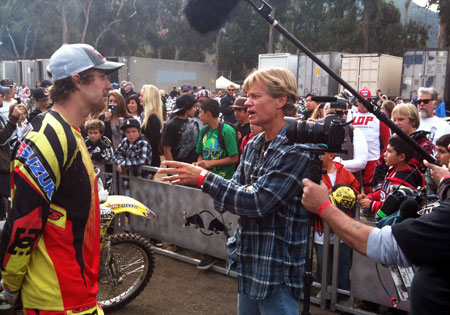 Dana Brown interviews Travis Pastrana