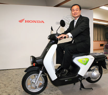 EV-neo, Takanobu Ito President and CEO of Honda