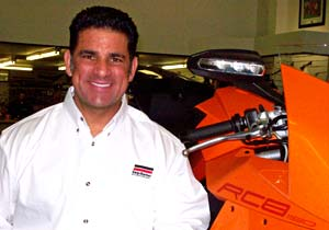 Jeff Haney will be the chief instructor of the KTM-powered Skip Barber Superbike School.