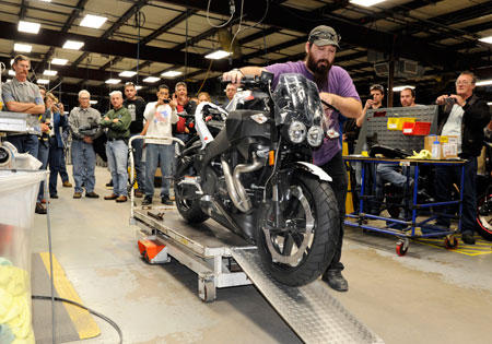 The final Buell motorcycle produced at the company's East Troy factory will find a home at the Barber Motorsports Museum.