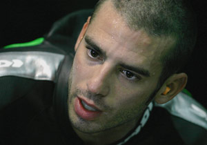 Marco Melandri also had a poor 2008 season and was looking to turn things around with Kawasaki.