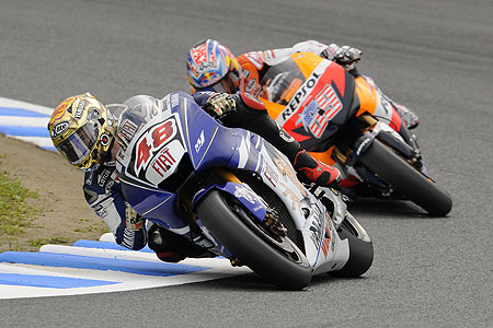 Both Jorge Lorenzo and Nicky Hayden raced on Michilen tires in this past weekend's race at Philip Island, Australia.