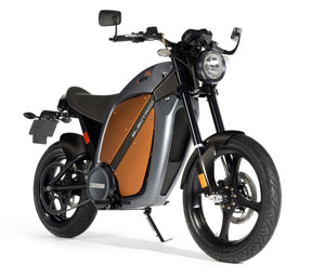 Brammo's Enertia all-electric motorcycle.