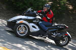 Some Can-Am Spyder roadsters may have steering issues.