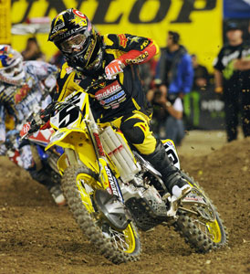 Ryan Dungey�s second place finish marked an impressive start to his first season racing in the 450 class.