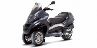 2009 Piaggio MP3 Three Wheeler 400