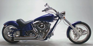 2012 Saxon Motorcycle Firestorm