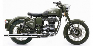 2016 Royal Enfield Classic Battle Green