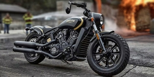 2018 Indian Scout® Jack Daniels  Limited Edition Indian Scout Bobber