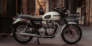 2020 Triumph Bonneville T120 Diamond Edition