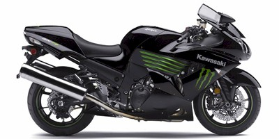 2009 Kawasaki Ninja ZX™-14 Monster Energy®