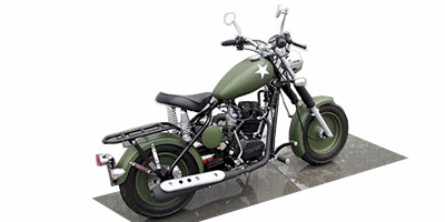2013 California Scooter Co. Military Series 250cc