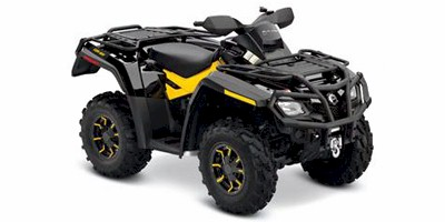 2011 Can-Am™ Outlander™ 800R EFI XT-P