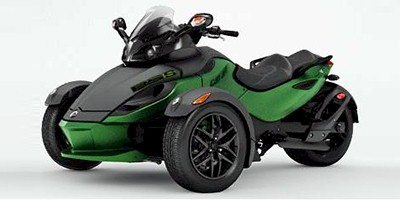 2012 Can-Am™ Spyder Roadster RS-S