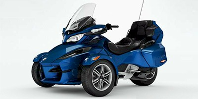 2012 Can-Am™ Spyder Roadster RT Audio And Convenience
