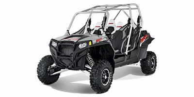 2012 Polaris Ranger® RZR® XP™ 4 900 Liquid Silver LE