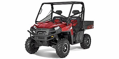 2012 Polaris Ranger® XP® 800 EPS Sunset Red LE