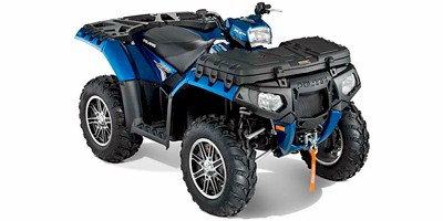 2012 Polaris Sportsman® 550 EPS Blue Fire LE