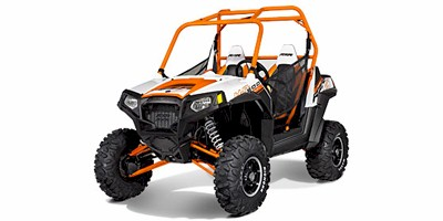 2013 Polaris RZR® S 800 Orange / White LE