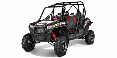 2013 Polaris RZR® XP 4 900 EPS Black / White / Red LE