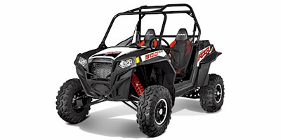 2013 Polaris RZR® XP 900 EPS Walker Evans Black / White LE