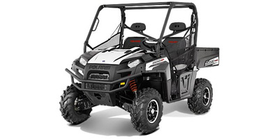 2013 Polaris Ranger® 800 Black / White Lightning LE