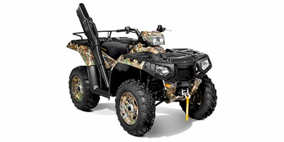 2013 Polaris Sportsman® 550 Browning Polaris Pursuit® Camo LE