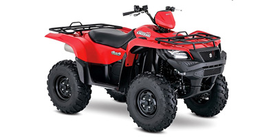 2018 Suzuki KingQuad 500 AXi Power Steering