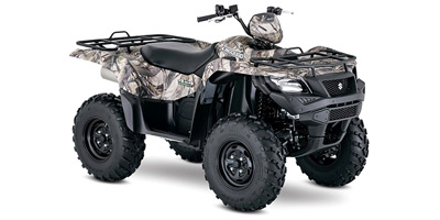 2017 Suzuki KingQuad 500 AXi Power Steering Camo