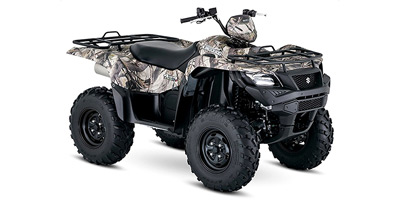 2018 Suzuki KingQuad 750 AXi Power Steering Camo
